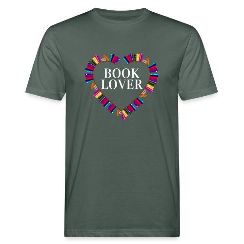 Book Lover - Männer Bio-T-Shirt