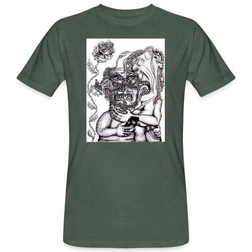 Piercat par - Ekologisk T-shirt herr