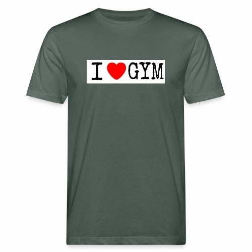 LOVE GYM - T-shirt ecologica da uomo