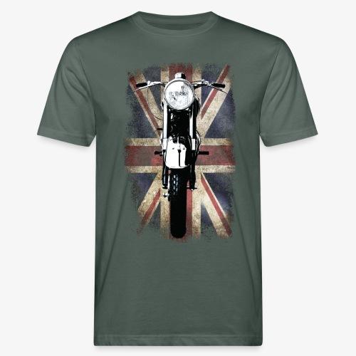 Vintage Motor Cycle BSA feature patjila - Men's Organic T-Shirt