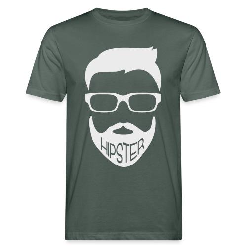 Hipster Bart Vollbart Mann Shirt Geschenk - Männer Bio-T-Shirt