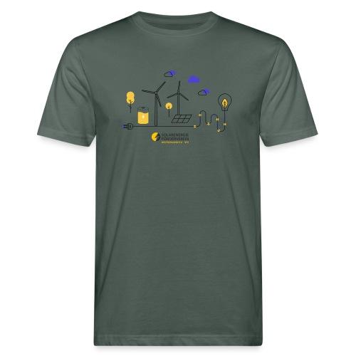 Erneuerbare Energien - Männer Bio-T-Shirt