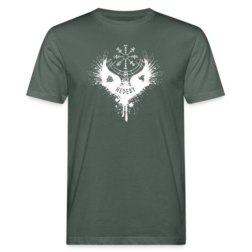 Wikinger Hedeby Vegvisir - Männer Bio-T-Shirt