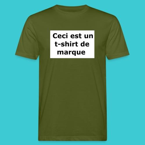 t-shirt2 - T-shirt bio Homme