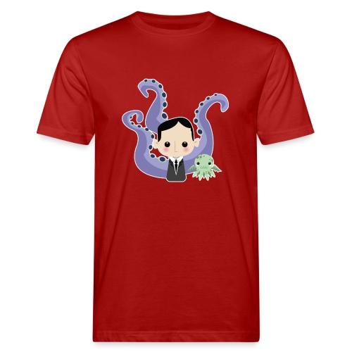 Lovecraft and Cthulhu - T-shirt ecologica da uomo