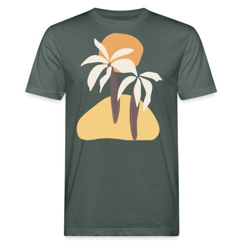 Minimal tropics - T-shirt ecologica da uomo