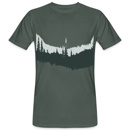 Skogsvy - Ekologisk T-shirt herr