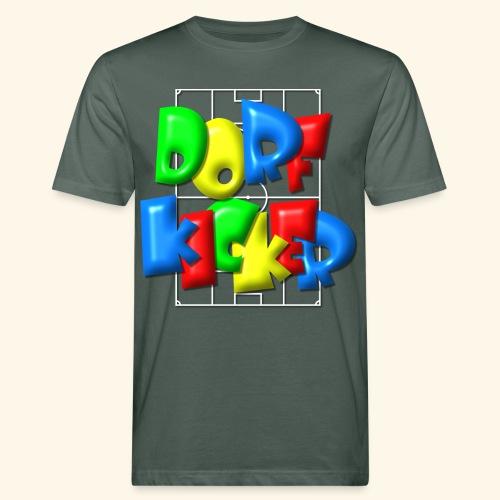 Dorfkicker im Fußballfeld - Balloon-Style - Männer Bio-T-Shirt