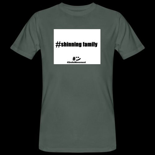 shinning family - T-shirt bio Homme