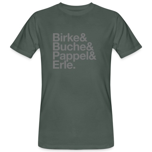 Allergien Bandshirt - Männer Bio-T-Shirt