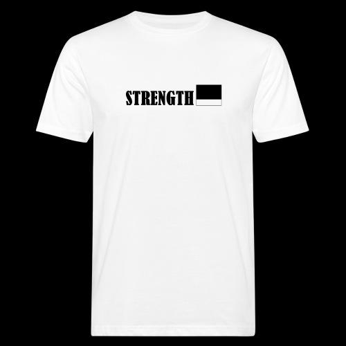 STRENGTH - Miesten luonnonmukainen t-paita