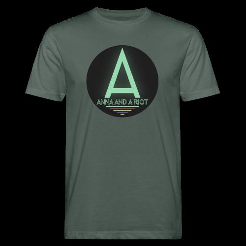 Anna And A Riot - Männer Bio-T-Shirt