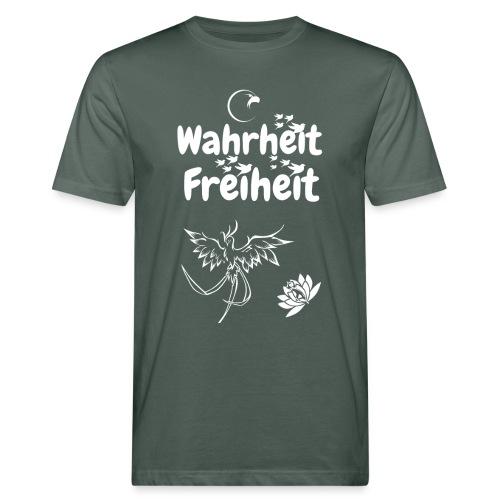 Wahrheit Freiheit - Männer Bio-T-Shirt
