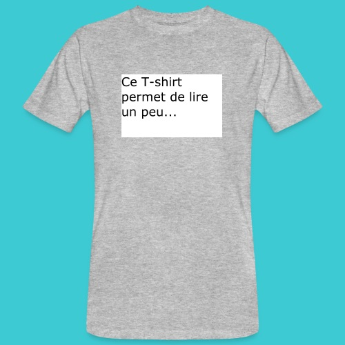 t shirt3 - T-shirt bio Homme