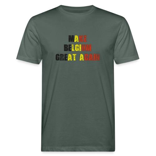 Make Belgium Great Again - Maak België Terug Groot - Mannen Bio-T-shirt