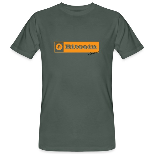 Bitcoin Forever - T-shirt bio Homme