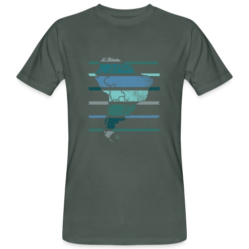 South America - Men's Organic T-Shirt