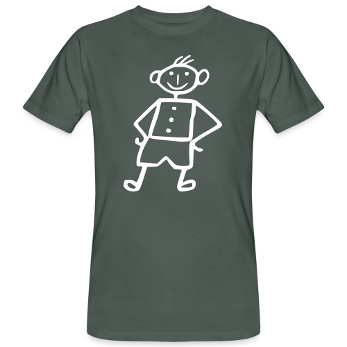 me-white - Männer Bio-T-Shirt