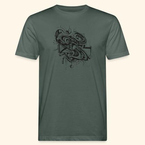 Unruhe by buks.one - Männer Bio-T-Shirt
