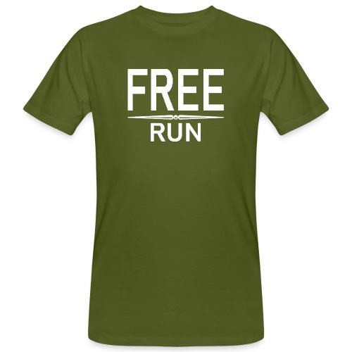 FREE RUN - Mannen Bio-T-shirt