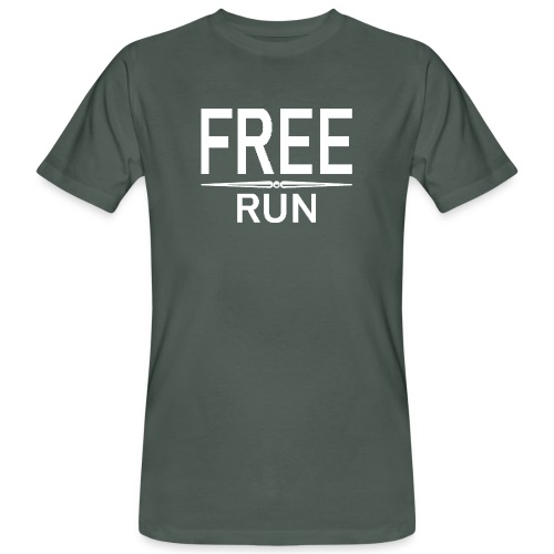 FREE RUN - Mannen Bio-T-shirt