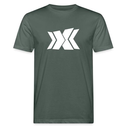 RLC Weiß - Männer Bio-T-Shirt