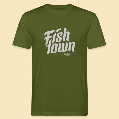 Fishtown Swoosh gray - Männer Bio-T-Shirt
