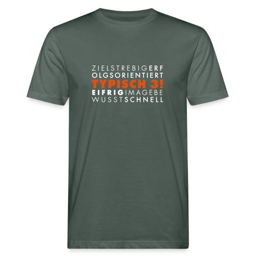 3 - Männer Bio-T-Shirt