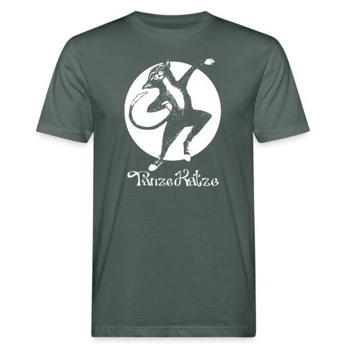TanzeKatze - Männer Bio-T-Shirt