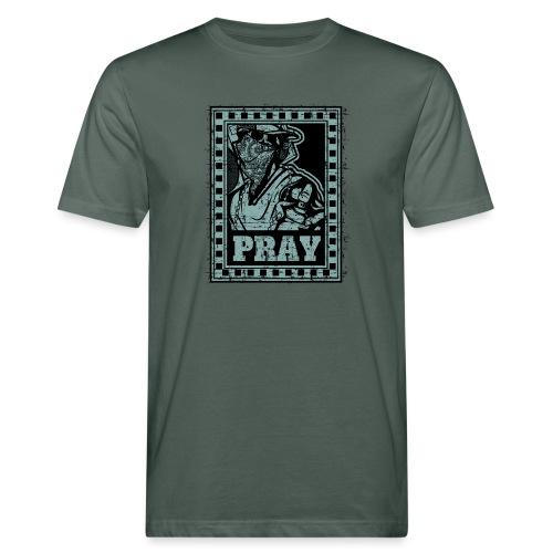 Pray - T-shirt ecologica da uomo