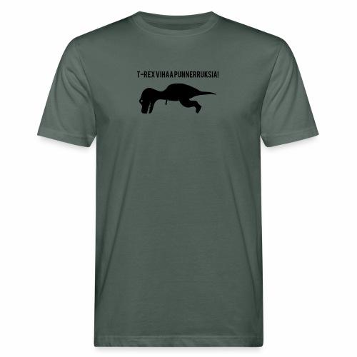 T-REX Vihaa - Miesten luonnonmukainen t-paita