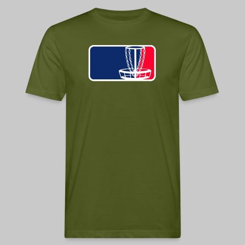 Disc golf - Miesten luonnonmukainen t-paita