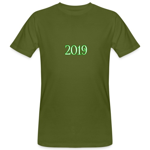 2019 - Men's Organic T-Shirt