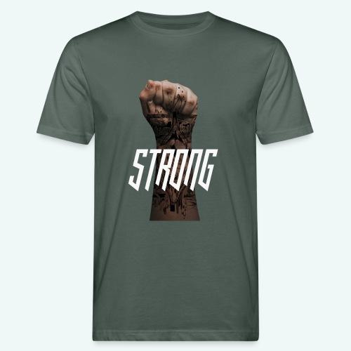 Strong - Männer Bio-T-Shirt