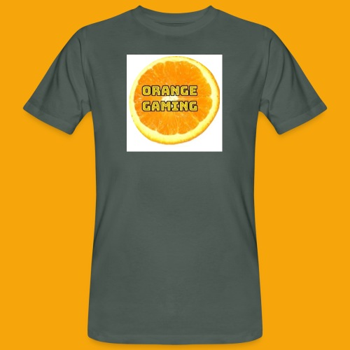 Orange_Logo_White - Men's Organic T-Shirt