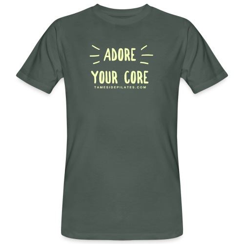 Adore Your Core - Men's Organic T-Shirt