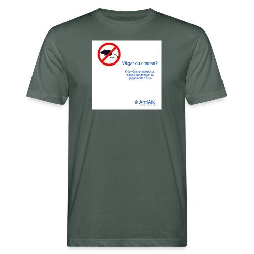 AntiAik - Ekologisk T-shirt herr