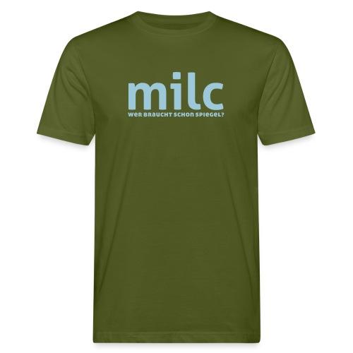 milc - Männer Bio-T-Shirt