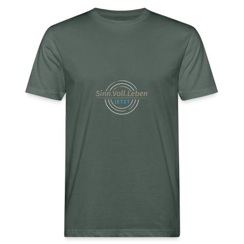 Sinn.Voll.Leben - Jetzt - Männer Bio-T-Shirt