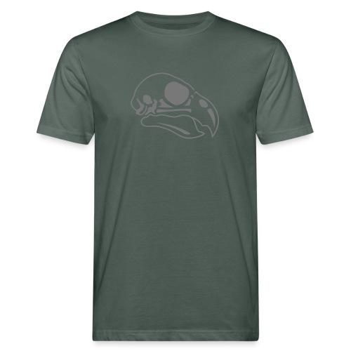 Vogel Totenkopf - Männer Bio-T-Shirt
