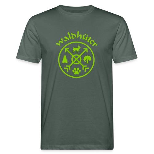 waldhüter3a80 - Männer Bio-T-Shirt