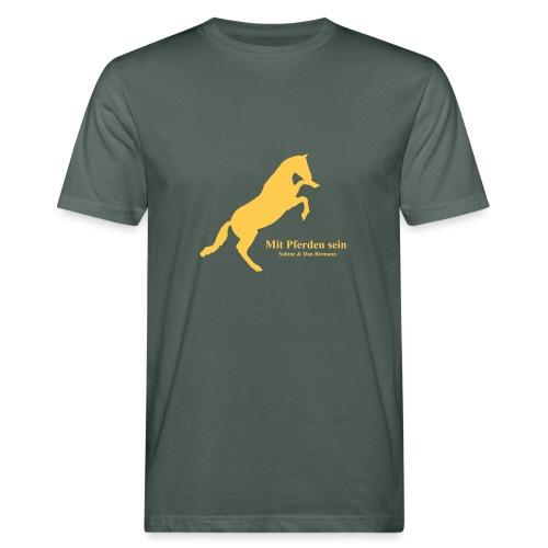 Jaward steigendes Pferd - Männer Bio-T-Shirt