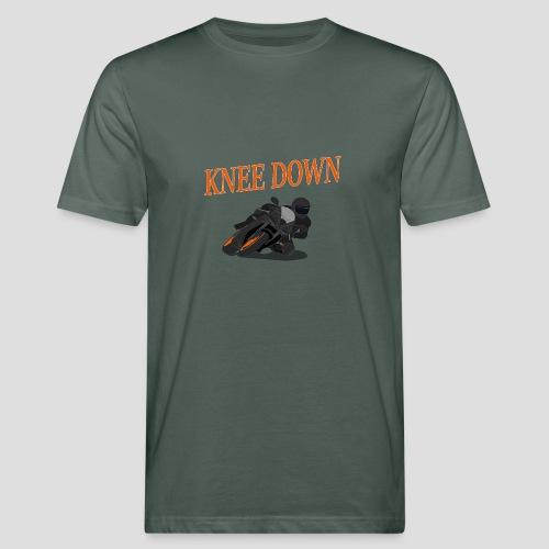 Knee Down - Motorrad   Biker - Männer Bio-T-Shirt