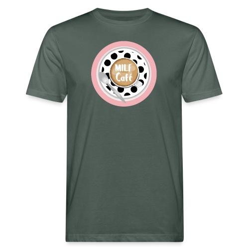 Milfcafé - MILF Logo Instagram Blogger Musthave - Männer Bio-T-Shirt