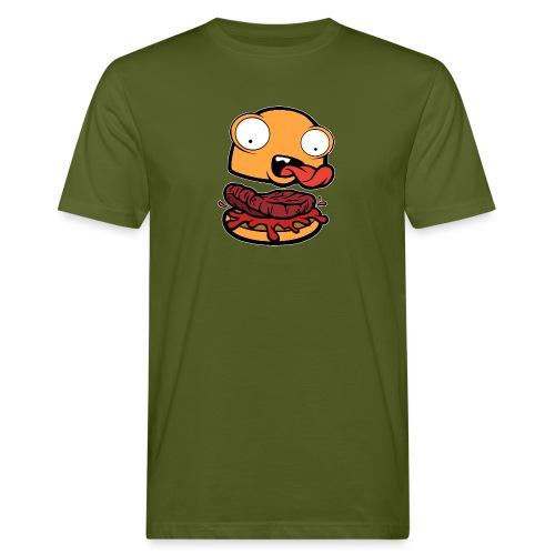 Crazy Burger - Camiseta ecológica hombre
