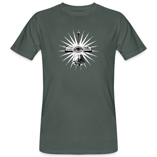 Blues Is The Truth - white star - Men's Organic T-Shirt