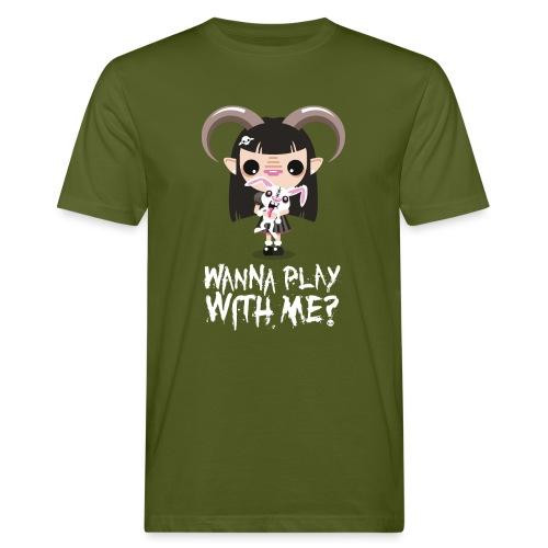 Wanna play with me? - T-shirt ecologica da uomo