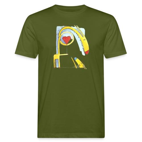 Giraffa innamorata - T-shirt ecologica da uomo