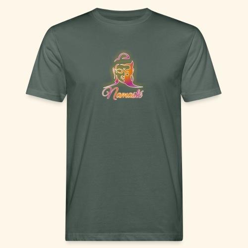 Buddha - Namasté - Männer Bio-T-Shirt