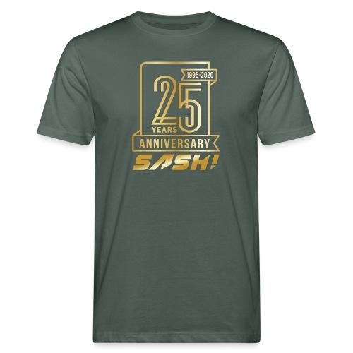 SASH! 25 Years Annyversary - Men's Organic T-Shirt
